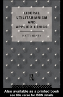Liberal Utilitarianism and Applied Ethic
