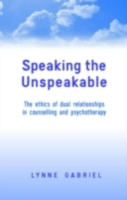Speaking the Unspeakable