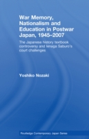 War Memory, Nationalism and Education in