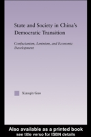 State and Society in China's Democratic