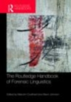 Routledge Handbook of Forensic Linguisti