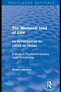 Medieval Idea of Law as Represented by L