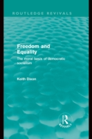 Freedom and Equality (Routledge Revivals