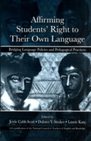 Affirming Students' Right to Their Own L