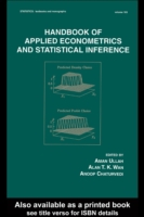 Handbook Of Applied Econometrics And Sta