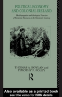 Political Economy and Colonial Ireland