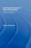 Learning Autonomy in Post-16 Education