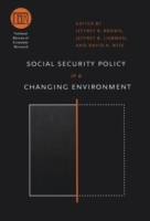 Social Security Policy in a Changing Env