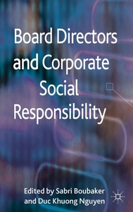 Board Directors and Corporate Social Res