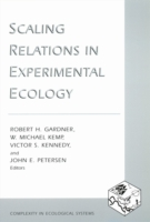 Scaling Relations in Experimental Ecolog