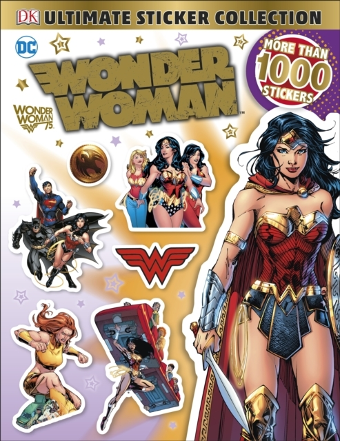 DC Wonder Woman Ultimate Sticker Collect