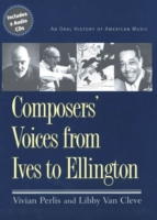 Composers' Voices from Ives to Ellington