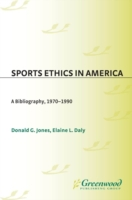 Sports Ethics in America: A Bibliography