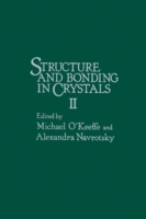Structure and Bonding in crystals