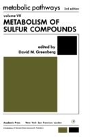 Metabolism of Sulfur Compounds