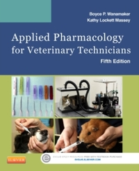 Applied Pharmacology for Veterinary Tech