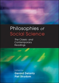 PHILOSOPHIES OF SOCIAL SCIENCE: The Clas