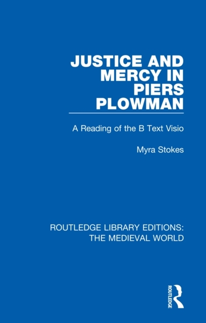 Justice and Mercy in Piers Plowman