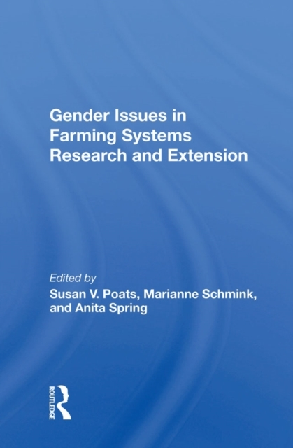 Gender Issues In Farming Systems Researc