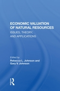 Economic Valuation Of Natural Resources