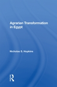 Agrarian Transformation In Egypt