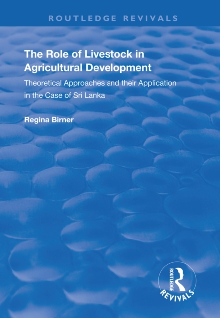 Role of Livestock in Agricultural Develo