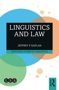 Linguistics and Law