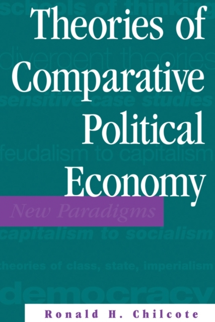 Theories Of Comparative Political Econom