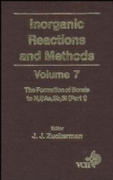 Inorganic Reactions and Methods, The For