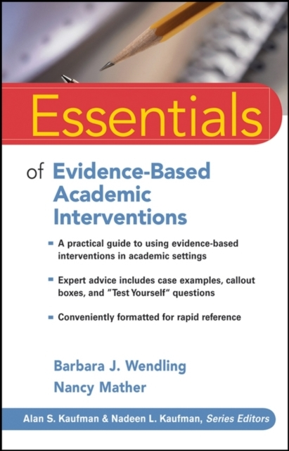 Essentials of Evidence-Based Academic In