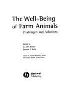 Well-Being of Farm Animals