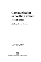 Communication in Poultry Grower Relation
