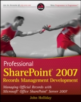 Professional SharePoint 2007 Records Man
