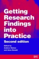 Getting Research Findings into Practice