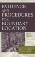 Evidence and Procedures for Boundary Loc