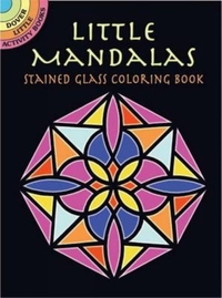 Little Mandalas Stained Glass Coloring B