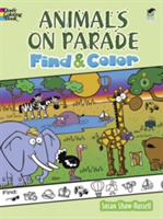 Animals on Parade Find and Color
