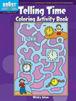 BOOST Telling Time Coloring Activity Boo