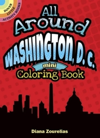 All Around Washington, D.C. Mini Colorin