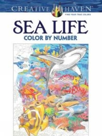 Creative Haven Sea Life Color by Number
