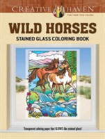 Creative Haven Wild Horses Stained Glass