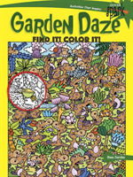 SPARK Garden Daze Find It! Color It!