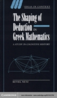 Shaping of Deduction in Greek Mathematic
