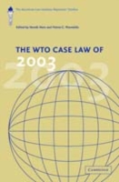 WTO Case Law of 2003