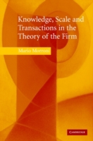 Knowledge, Scale and Transactions in the