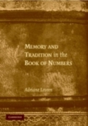 Memory and Tradition in the Book of Numb