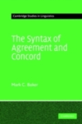 Syntax of Agreement and Concord