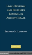 Legal Revision and Religious Renewal in