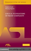 Logical Foundations of Proof Complexity