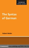 Syntax of German